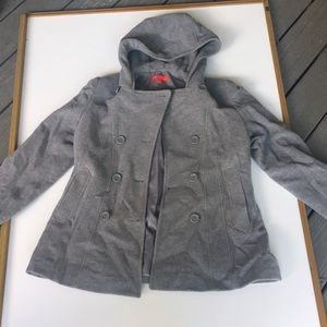 Anne Klein grey pea coat